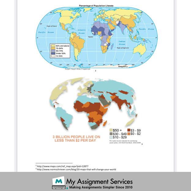 Geography homework regions