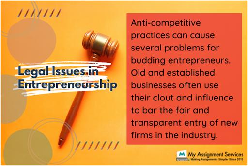 legal issues in entrepreneurship