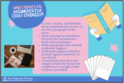 What Make An Argumentative Essay Stronger