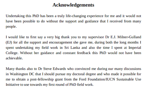 Know The Secret To Write A Perfect Acknowledgement For Your Next Thesis
