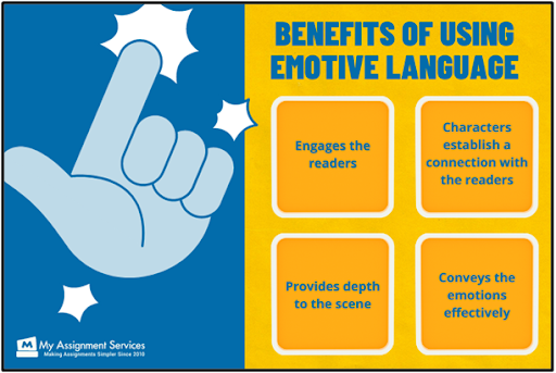 benefits of using emotive language