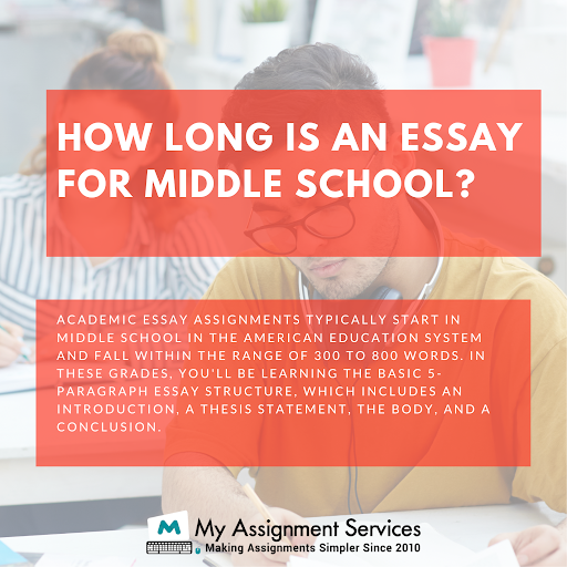 essay writing help for middle school