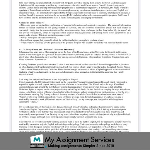 Grad School Essay Help Online