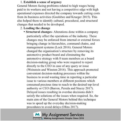 strategic management solved assignment