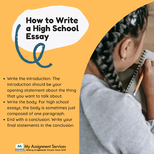 Essay Writing Help For High School Students