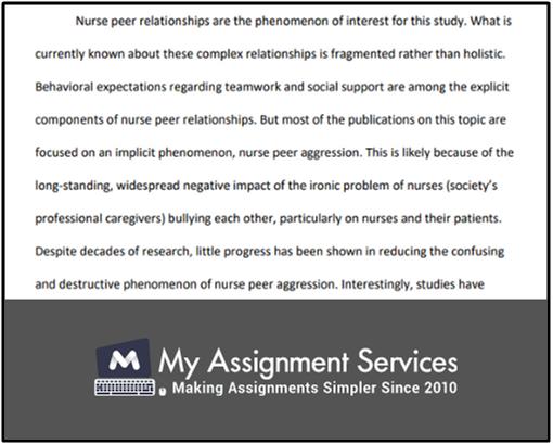 Structuring Your Nursing Dissertation Sample