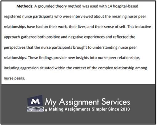 Structuring Your Nursing Dissertation Sample 2