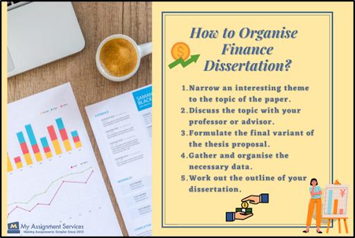 how to organise finance dissertation