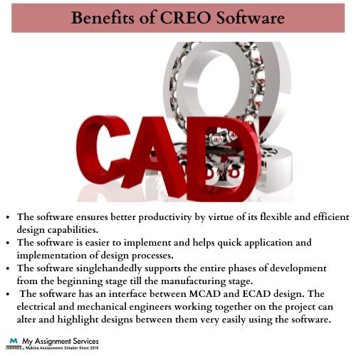 Benifits of CREO Software