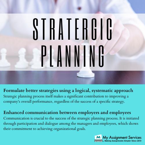 Strategic Planning Assignment Help