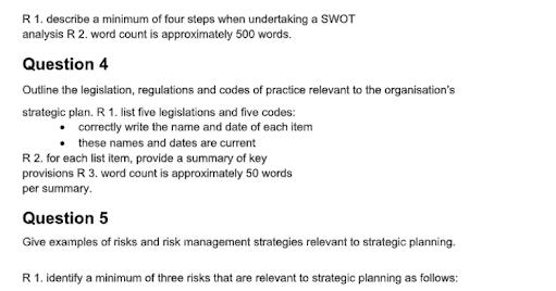 Strategic Planning Assignment Help UK