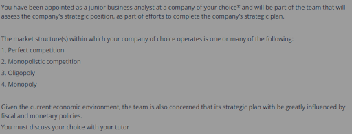 Monopolistic Vs The Perfect Competition Sample