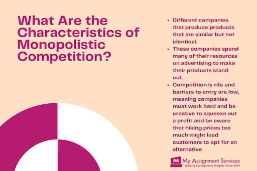what are the characteristics of Monopolistic Competition
