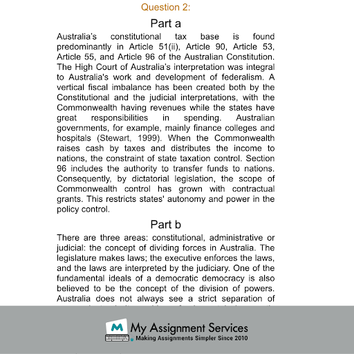 Research Paper Topics Samples