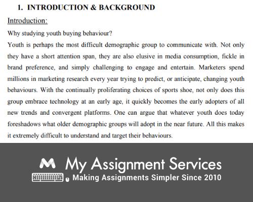 Consumer Behaviour  Dissertation Samples