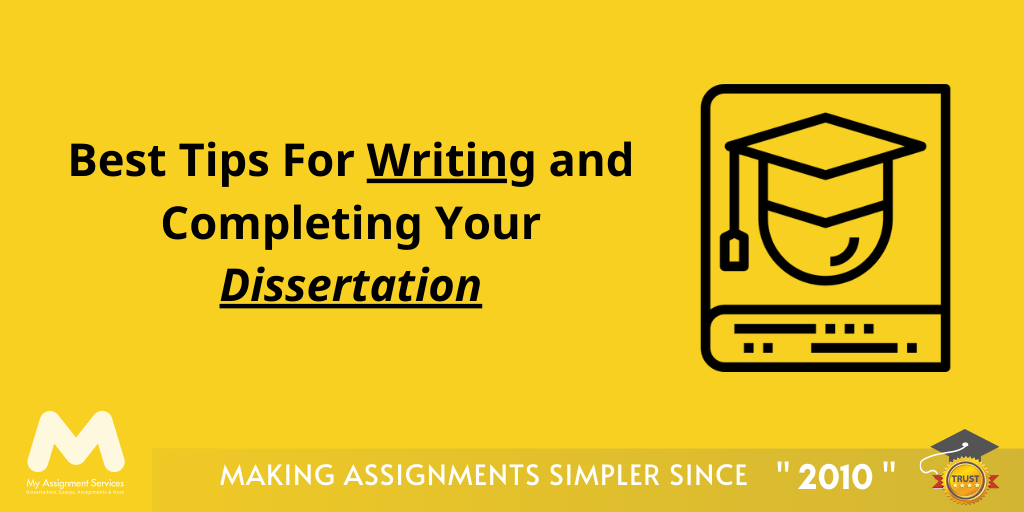 Expert tips for dissertation writing
