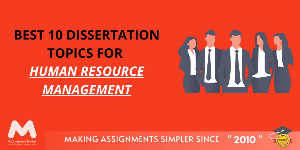 Human Resource Management Dissertation