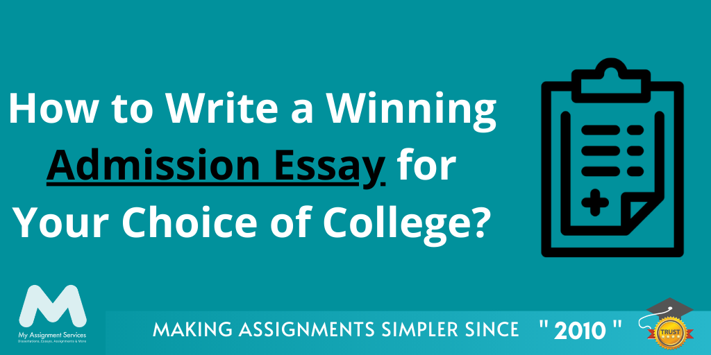 How to Write an Admission Essay