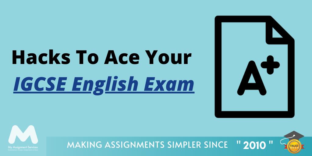 IGCSE English Exam Tips