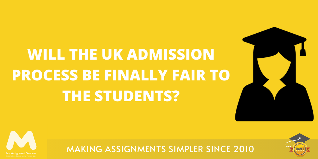 New university admission policy UK