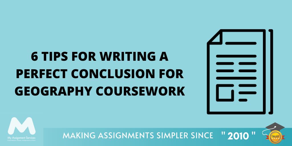 How To Write A Conclusion For Geography Coursework