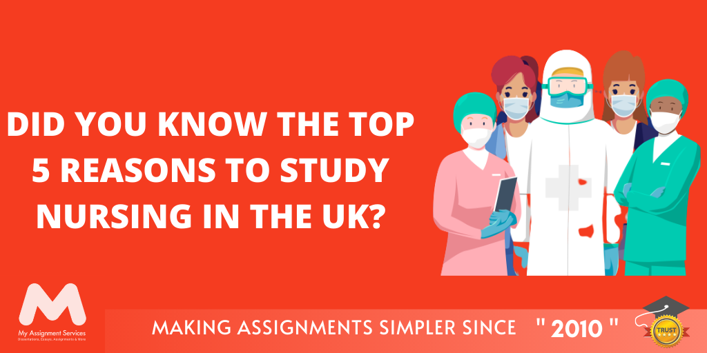 5 Reasons To Study Nursing In The UK