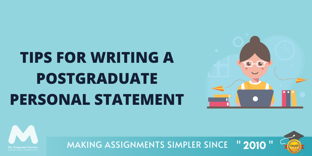 Tips for writing a postgraduate personal statement