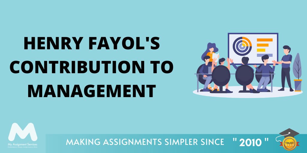 Henry Fayol's Contribution to Management