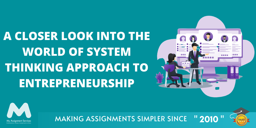 System Thinking Approach to Entrepreneurship | CMI Level 7 Assignment Help