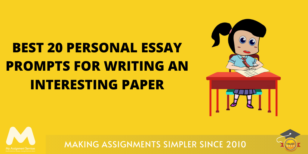 Best 20 Personal Essay Prompts