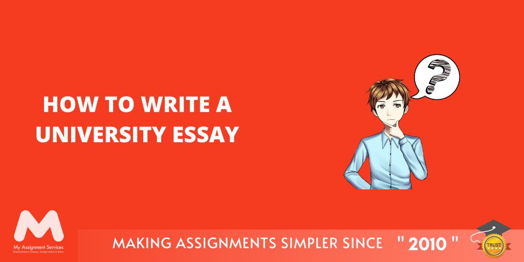 How to Write a University Essay