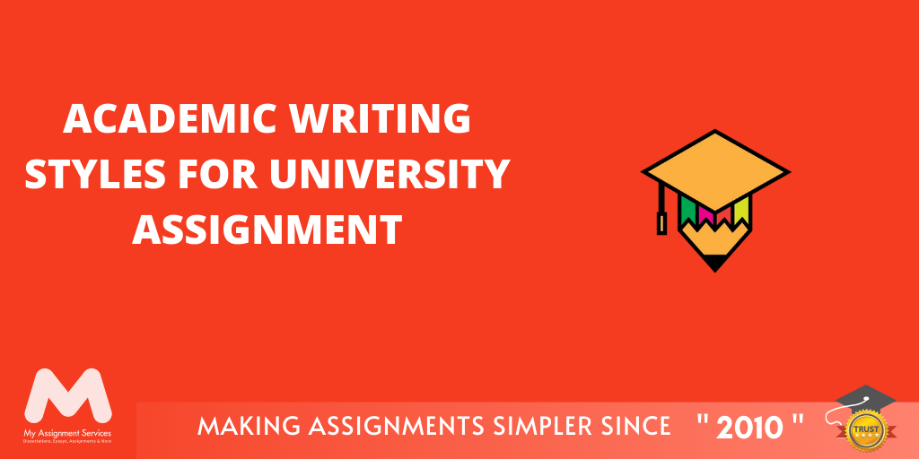 Academic Writing Styles for University Assignment