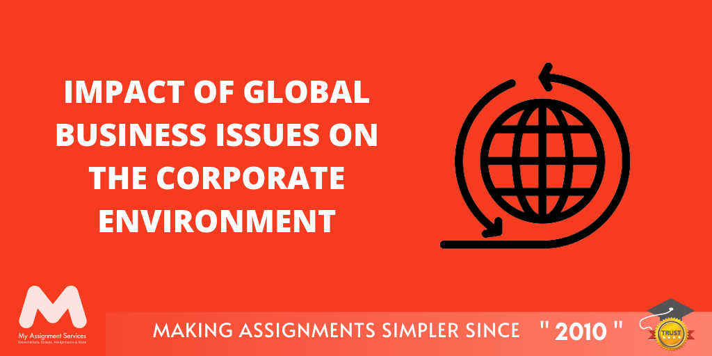 Impact of Global Business Issues on the Corporate Environment
