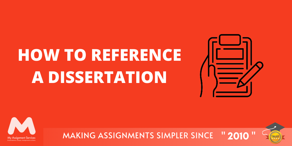 How to Reference a Dissertation