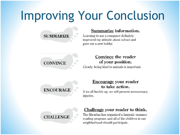 Improve Your Conclusion