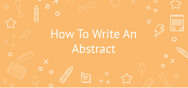 How to write a abstract