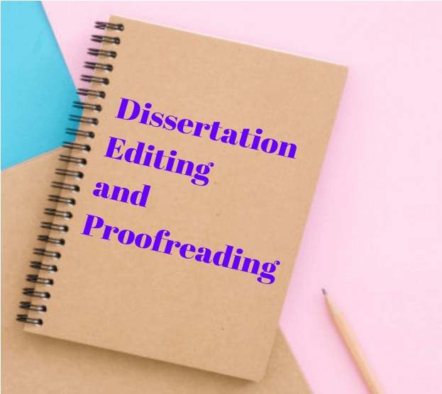 Dissertation proofreader