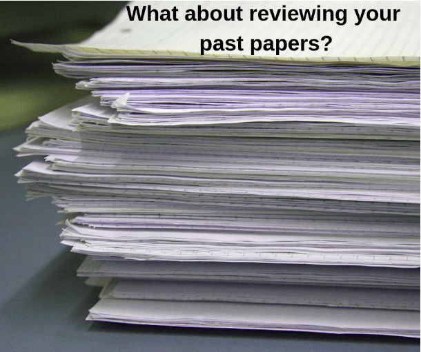 Reviewing undergraduate and graduate papers