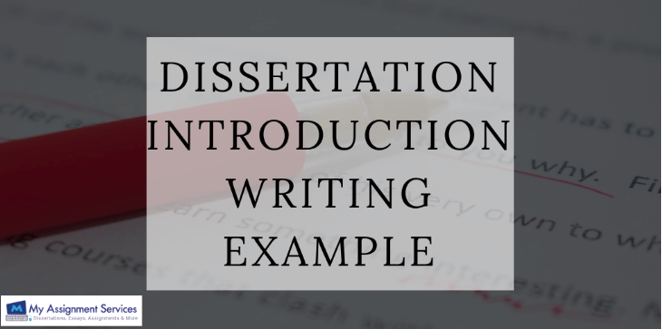 Dissertation Introduction Writing