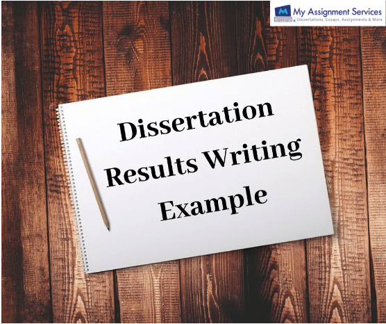 Dissertation Results Writing Example