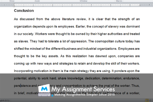 Review Essay Conclusion