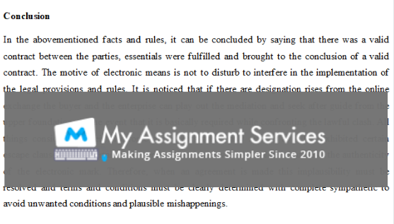 conclusion: sample of essay written by our expert