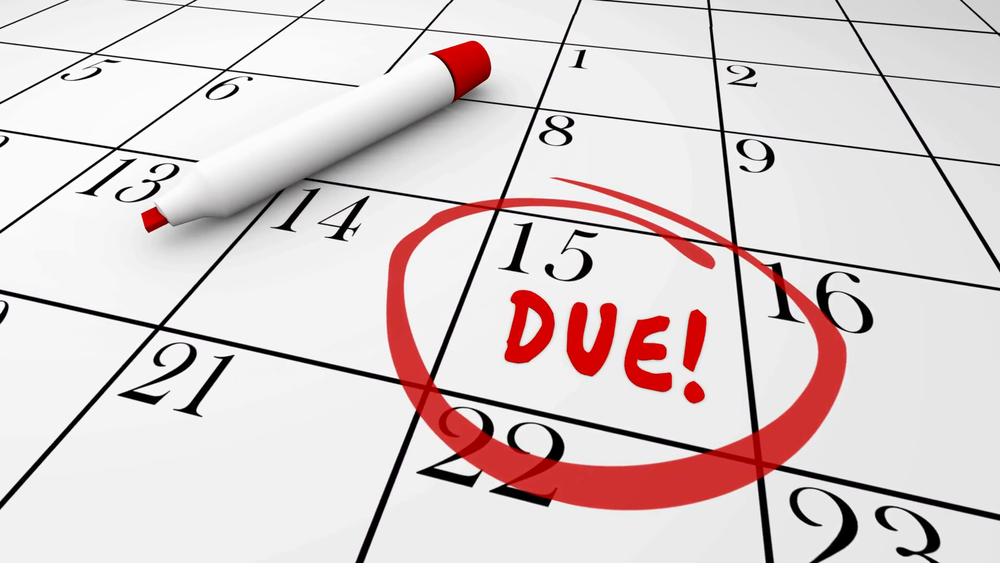 due-day-date-circled-calendar-deadline-baby-taxes