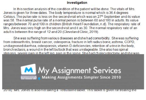 university nursing coursework assessment answer sample3