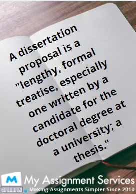 write a proposal for your dissertation