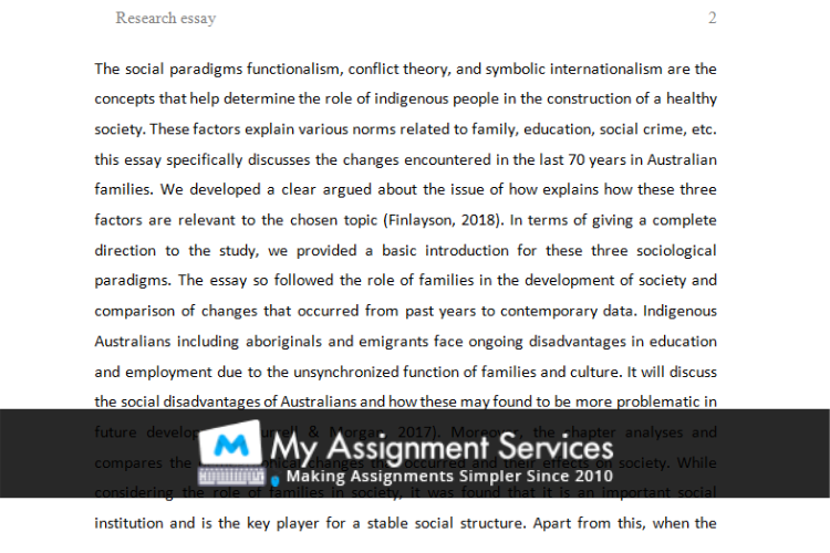 essay sample 2 written by our essay writers