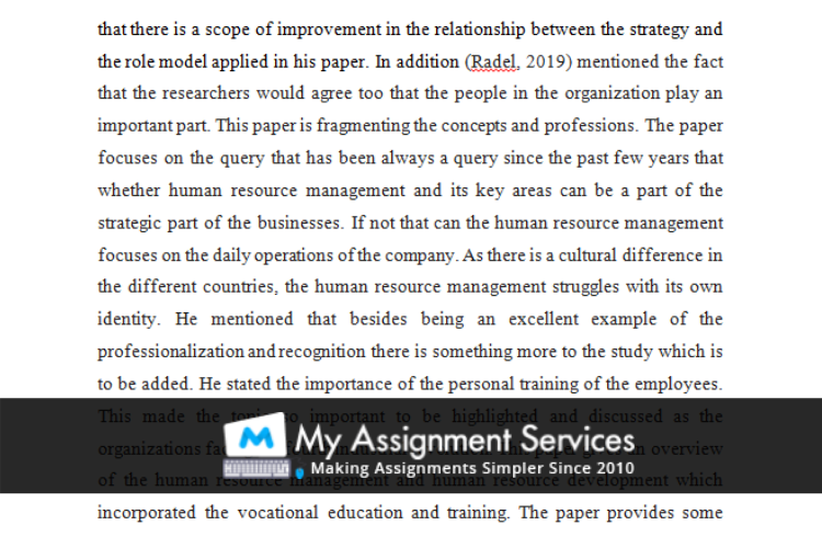 assessment solution sample 4