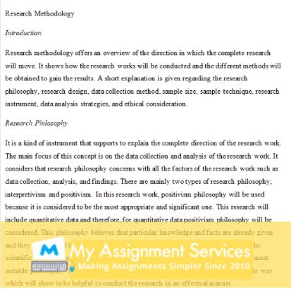 Dissertation Proposal Sample#2