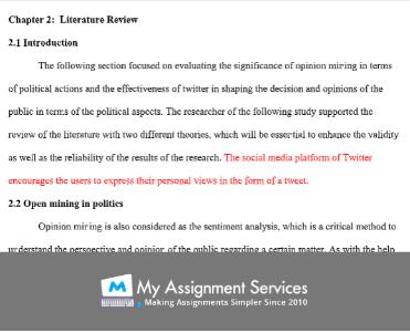 dissertation literature review sample 2