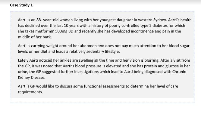 case study assessment sample